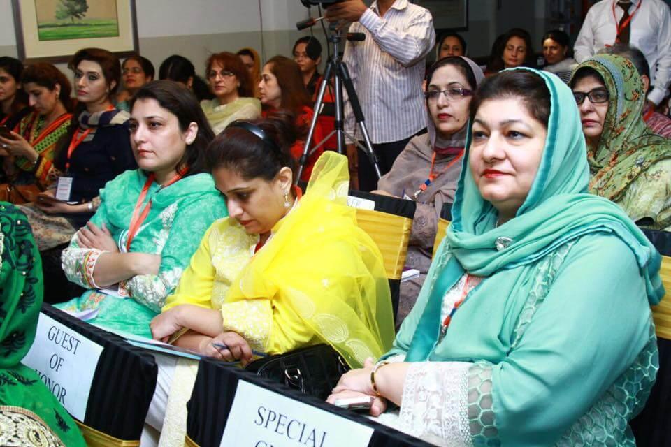 Dr. Safdar Malik Wife With Guests