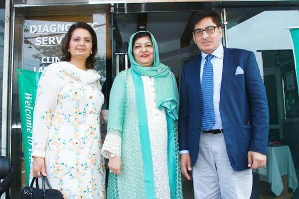 Dr.Safdar Malik With Family